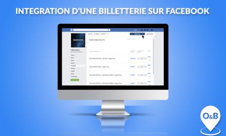 integration billetterie facebook